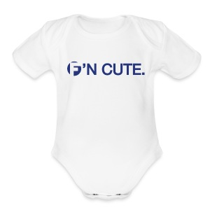 F'N CUTE - Short Sleeve Baby Bodysuit