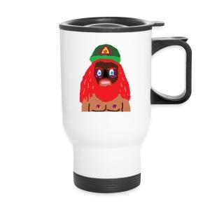Travel mug with my face on it - Travel Mug