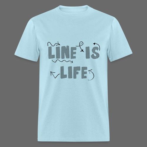 Line is Life - Men's T-Shirt