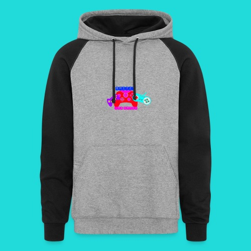 KID'S BRIIZY THE GAMER GIRL WOMEN'S HOODIE - Colorblock Hoodie