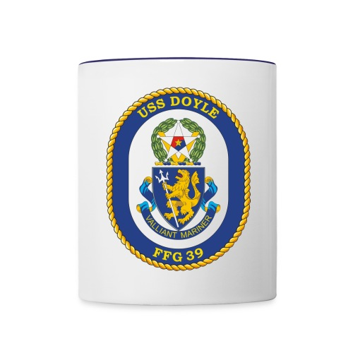 USS DOYLE FFG 39 - Contrast Coffee Mug