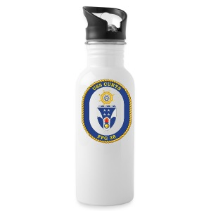 USS CURTS FFG 38 - Water Bottle
