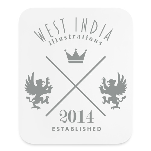 West India Illustrations Mousepad - Mouse pad Vertical