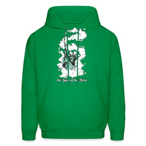 the Land of the Free ... Cannabis - Hoodie / male - Men's Hoodie