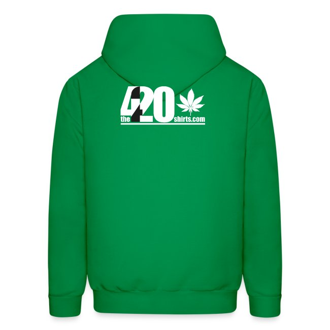 the Land of the Free ... Cannabis - Hoodie / male