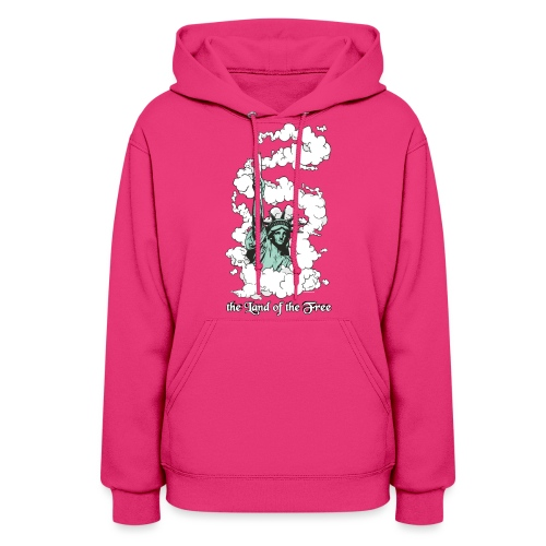 the Land of the Free ... Cannabis - Hoodie / female - Women's Hoodie