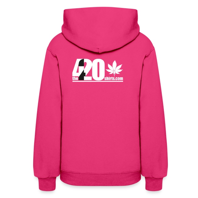 the Land of the Free ... Cannabis - Hoodie / female