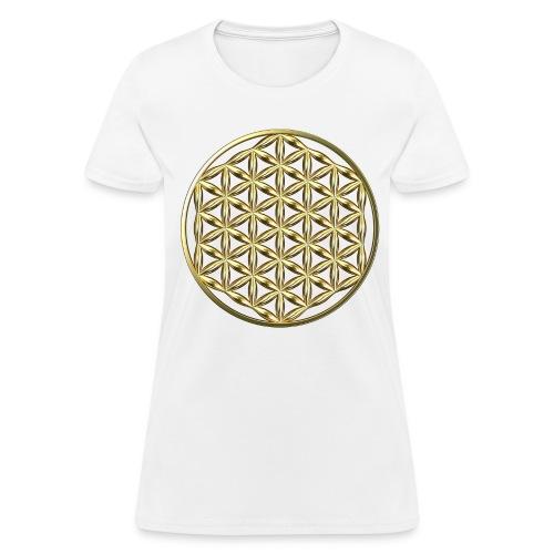 Flower of Life Ag - Women's T-Shirt