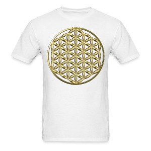 Flower of Life Ag - Men's T-Shirt