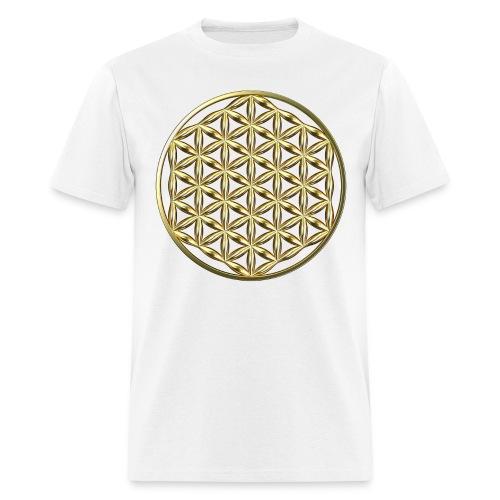 Flower of Life Ag - Men's T-Shirt