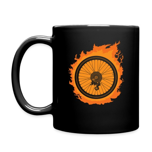 Bike Fire - Full Color Mug