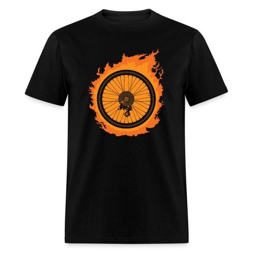 Bike Fire - Men's T-Shirt