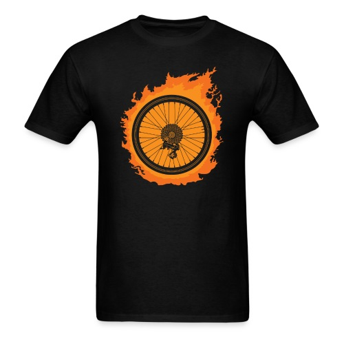 Bike Fire - Men's T-Shirt