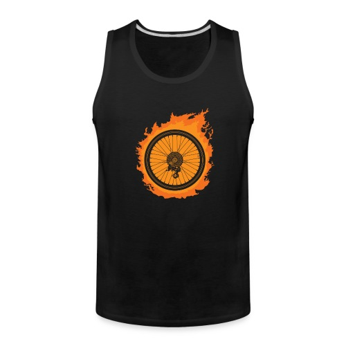 Bike Fire - Men's Premium Tank
