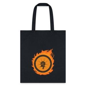 Bike Fire - Tote Bag
