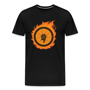 Bike Fire - Men's Premium T-Shirt