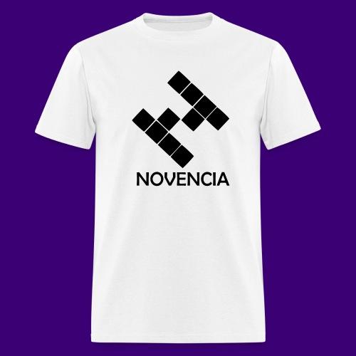 Novencia Plain White - Men's T-Shirt