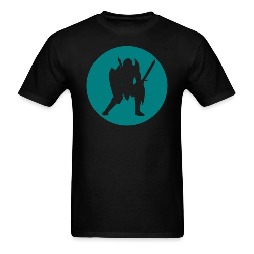 Teal Warrior - Men's T-Shirt