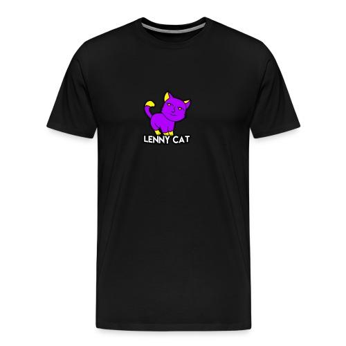 Camiseta Lenny Cat - Men's Premium T-Shirt