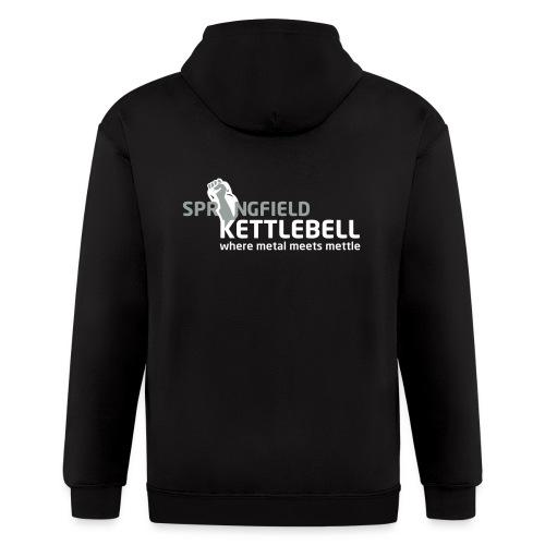 Springfield Kettlebell Men's Zip Hoodie - Men's Zip Hoodie