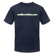 T-Shirts ~ Men's T-Shirt by American Apparel ~ Mellowvision.com Glow-In-The-Dark T Shirt