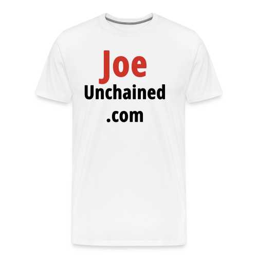 JoeUnchained.com - Men's Premium T-Shirt