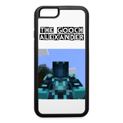 The Gooch Alexander iPhone 6/6s Rubber Case - iPhone 6/6s Rubber Case