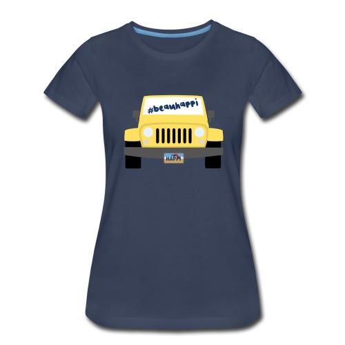 Beau Happi - Women's T-shirt Navy - Women's Premium T-Shirt