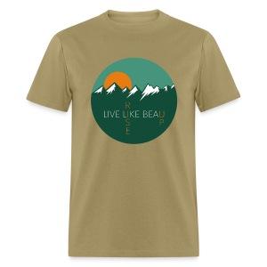 Live Like Beau - Men's T-shirt - Men's T-Shirt