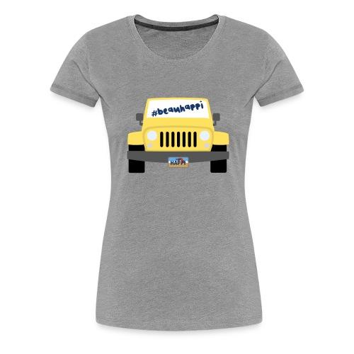 Beau Happi- Women's T-shirt Grey - Women's Premium T-Shirt
