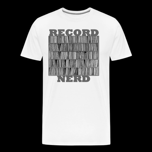 Record Nerd - Men's - Men's Premium T-Shirt
