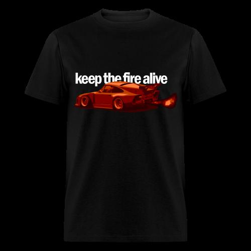 Keep the Fire Alive - Men's T-Shirt