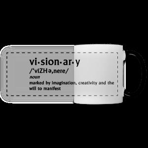 visionary definition mug - Panoramic Mug