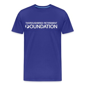 CUSTOM DESIGN REQUEST! - THOROUGHBRED RETIREMENT FOUNDATION - Men's Premium T-Shirt