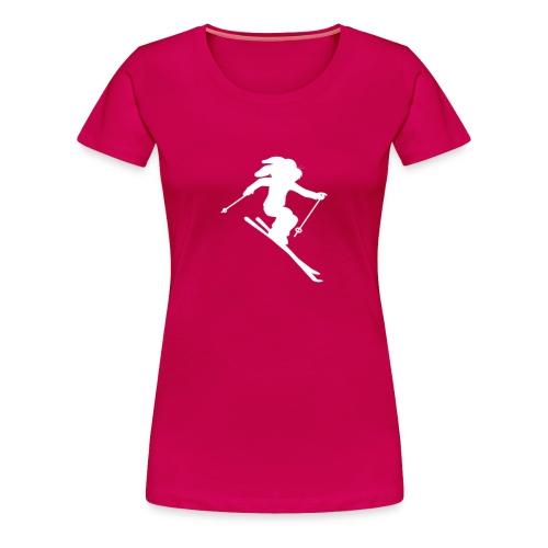 White Rabbit Snow Bunny Tee - Women's Premium T-Shirt