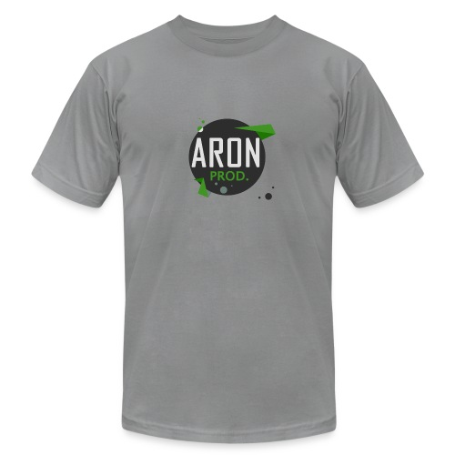 Classic Logo - Men's T-Shirt : slate - Men's Fine Jersey T-Shirt
