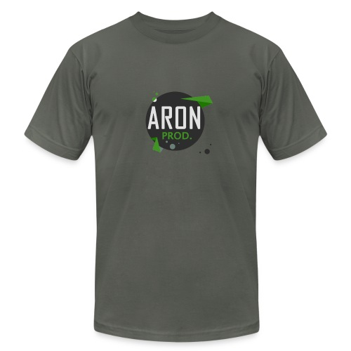 Classic Logo - Men's T-Shirt : asphalt - Men's Fine Jersey T-Shirt
