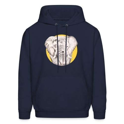 Elephant - Men's Hoodie