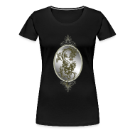 T-Shirts ~ Women's Premium T-Shirt ~ Steel Dragon Shirt