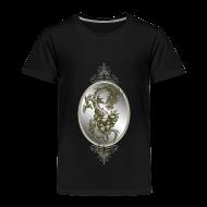 Baby & Toddler Shirts ~ Toddler Premium T-Shirt ~ Steel Dragon Shirt