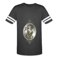 T-Shirts ~ Vintage Sport T-Shirt ~ Steel Dragon Shirt
