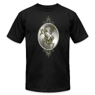 T-Shirts ~ Men's T-Shirt by American Apparel ~ Steel Dragon Shirt
