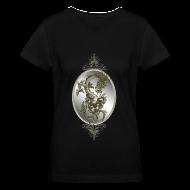 T-Shirts ~ Women's V-Neck T-Shirt ~ Steel Dragon Shirt