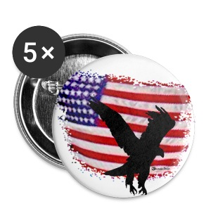 4th of July Independence Day - Large Buttons