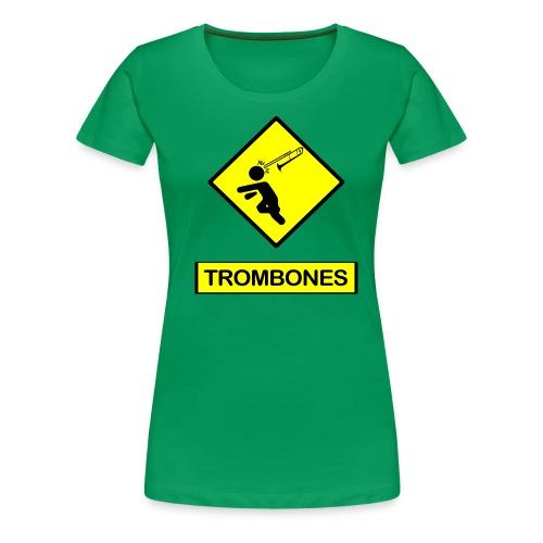 Trombones - Women's Premium T-Shirt