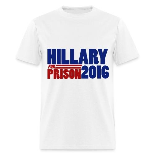 Hillary Prison Shirt - Men's T-Shirt