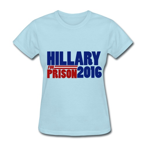 Hillary Prison Womens - Women's T-Shirt