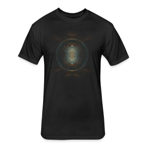 Mystic Orb Fitted Cotton/Poly T-Shirt - Fitted Cotton/Poly T-Shirt by Next Level