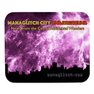 Managlitch City Underground mousepad - Mouse pad Horizontal