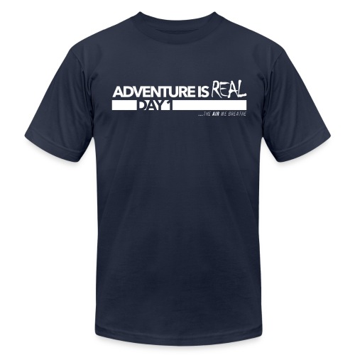 Day 1 - Navy - Men's Fine Jersey T-Shirt